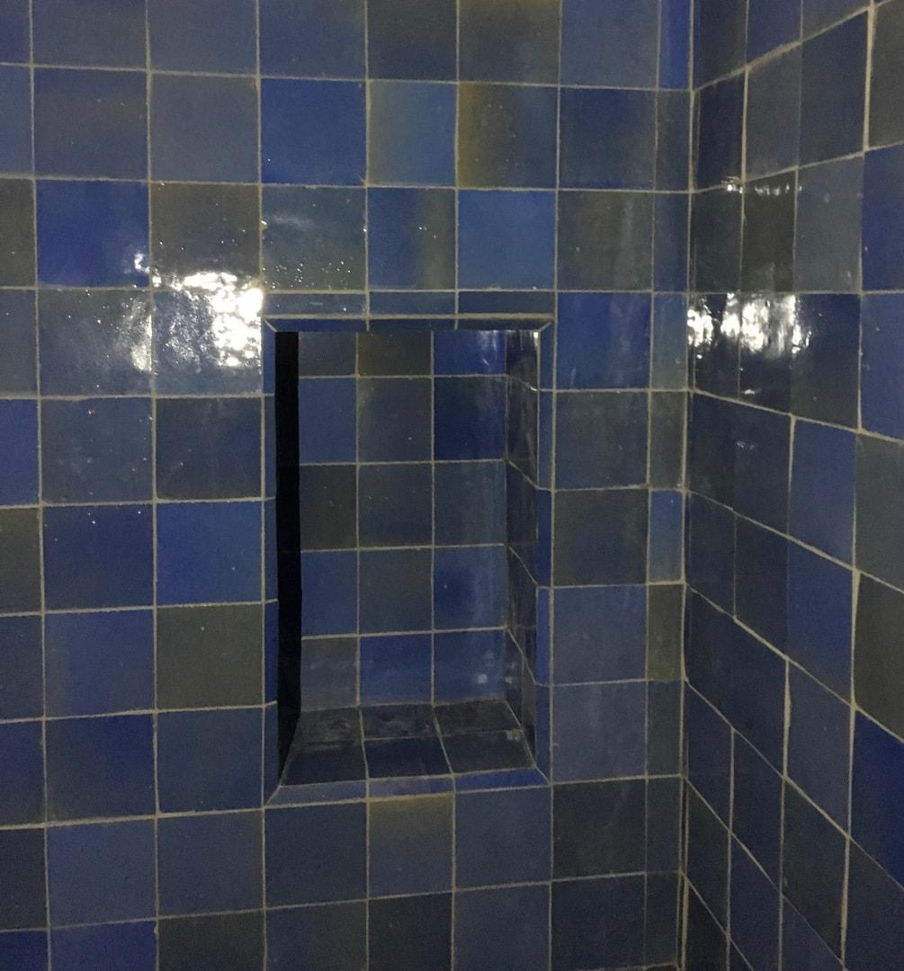 Salle De Bain Zellige Bleu ~ carrelage haut en couleur pour les salles de bain du coin des aromates