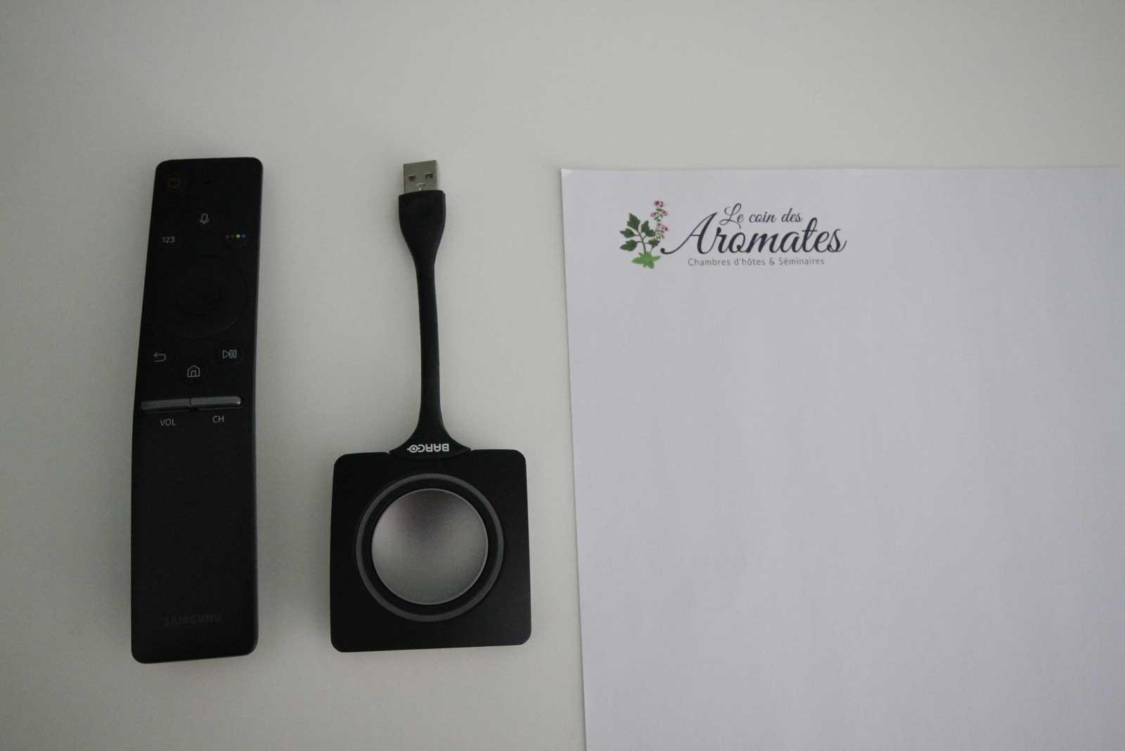 Un équipement professionnel de vidéoprojection